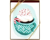 Hot Cocoa Holiday – Set of 8 Cards