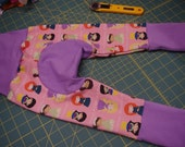 Monster Bunz Pants - Princesses - size 3-12 months in stock with a bum circle