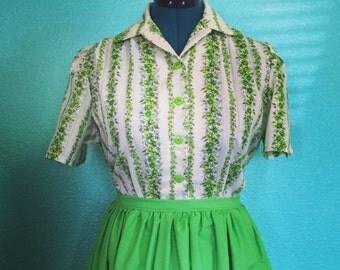 Evelyn Blouse - 1940s vintage reproduction custom handmade