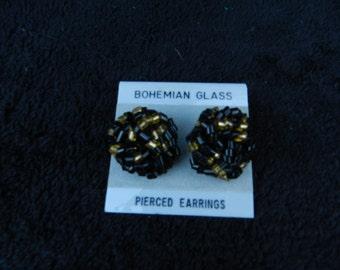 Earrings: Beaded Knot Jewelry