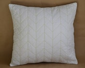 Custom Lising for Diane 14 x 36 inch Herringbone Quilted Pillow Cover