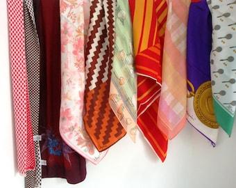Designer Scarf Lot - Vintage Scarf Collection - Vera - Oleg Cassini - Nasharr Scarf - Liz Claiborne - Designer Scarves - Vintage Scarves