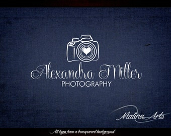 Photography logo design and photography watermark. Camera Logo and heart logo BUY 2 and GET 1 FREE!!!