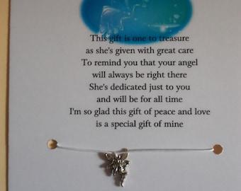 Angel Of Peace Wish Bracelet
