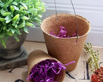 Decorative Peat Pots, Peat Pots, Paper Supplies, Party Favors, Party Supplies, Purple Paper Grass, Parties, Favors, Springtime Supplies