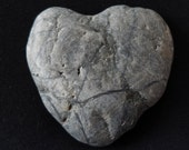 Love Set in Stone - Marble Heart - One Of A Kind