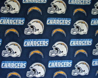 San Diego Chargers Fabric by NTT 2 yd x 60 inches