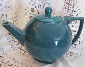 Vintage Hall Teapot - 6 cup DarK Blue Green