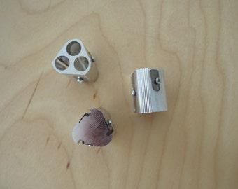 Metal pencil sharpener - triple x1
