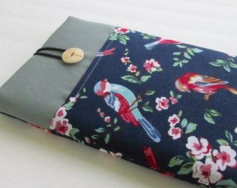 iPad mini 4 case, Ipad mini cover, Ipad mini sleeve-Birds and branches.