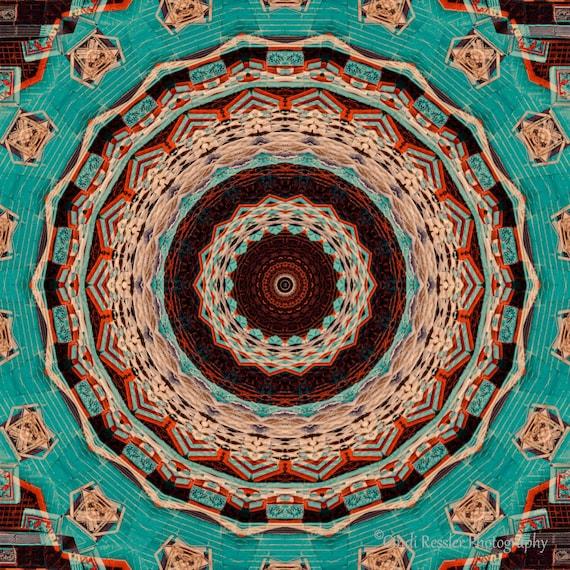 Southwest Mandala, Fine Art, Digital Art, Photo Art, Abstract Art, Southwestern Art