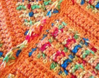 Perfect Handknit Baby Blanket