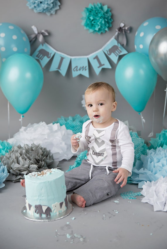 I Am One Birthday Banner I Am One Highchair By