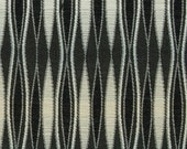 Black White Abstract Fabric for Modern Furniture Upholstery - Modern Black Stripe Home Decor - Contemporary Headboard - Living Room Decor
