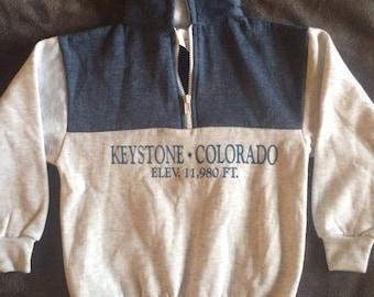 Vintage Keystone Colorado Sweater