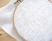 32 ct Linen Cross Stitch Fabric | Belfast Linen in Antique White (32 count) for Counted Cross Stitch, Embroidery, Needlework