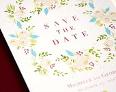 Succulent & Ivory Wedding Stationery — Save the Date, Invitation, RSVP, Information Card, Menu, Program, Place Card, Table Number, Thank You