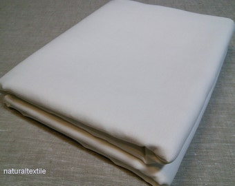 "100% Linen TWIN DUVET COVER Flax White European Luxury 67""x87"" (170x220cm)"