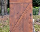 Custom Sliding Barn Door, Z-Barn Door, Vintage Inspired Barn Door