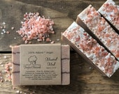 Mineral Mud Soap - Handmade Cold Process, All Natural, lightly scented, vegan, essential oil soap, Dead Sea Mud