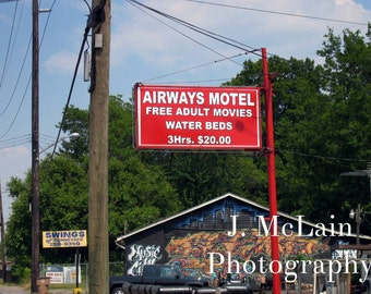 "Photography print - ""Airways Motel"""