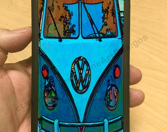 iPhone Case VW Mini Bus Colorized iPhone 7/7+ 6/6+ iPhone 5/5s iPhone 4/4s
