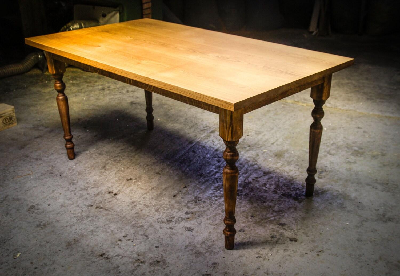 EXTENDABLE FARMHOUSE TABLE Dark Oak Dining by HardmanDesignBuild