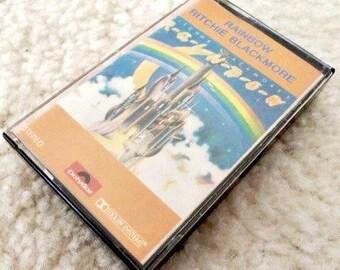 Rainbow Music Tape Ritchie Blackmore Hard Rock Music Glam Metal Stereo Cassette 80s Walkman Deep Purple Dio