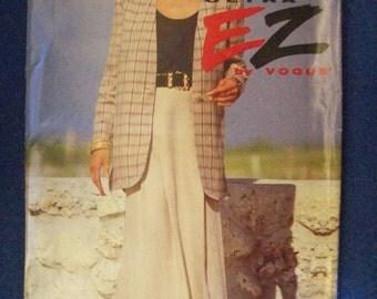 Vogue 8617, Misses' Jacket, Misses' Skirt