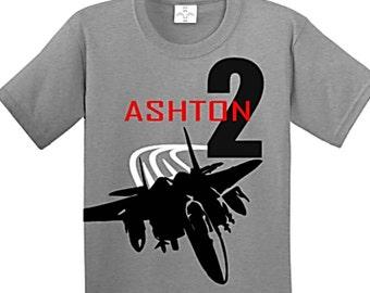 Airplane Birthday, Airplane Birthday Shirt, Airplane Birthday Party, Airplane Shirt, Plane Birthday Shirt, Plane Birthday Party, Fighter Jet