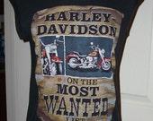 Free shipping! Small 1986 / 1987 Harley Davidson sleeveless t-shirt Schaeffer's of Orwigsburg Pennsylvania l