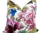 CLOSEOUT - Ready to Ship! Designers Guild Orangerie Rose Pillow Cover