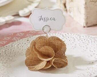 Rustic Wedding Favors (Set of 12), Rustic Placecard Holders, Rustic Wedding Decorations, Rustic Wedding Favors