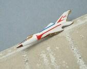 Jet Tie Tack Lapel Pin B-58 Hustler Strategic Air Command Plane H703