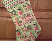 Charlie Brown Christmas Stocking