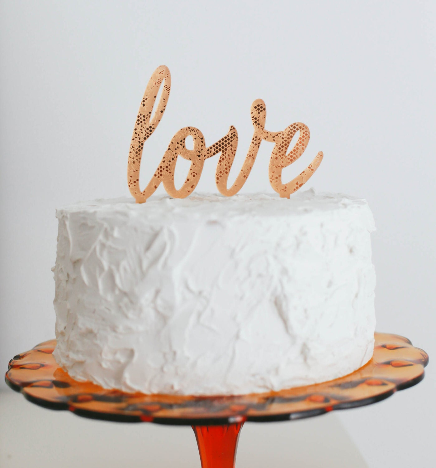 wedding cake toppers rose gold wedding cake topper gold cake topper by 26591