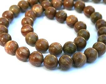 8 mm Rainbow Agate Semi Precious Gemstone Beads