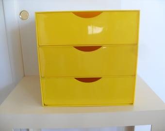 Vintage Pop Art Style Storage/File Cabinet