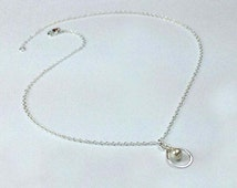 Sterling silver Infinity anklet. Sister ankle, best friend anklet, best friend gift.