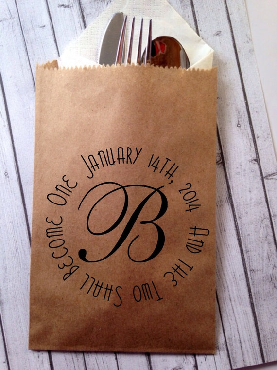 Items similar to unique wedding favor bags for cookie or for Cookie bags for wedding