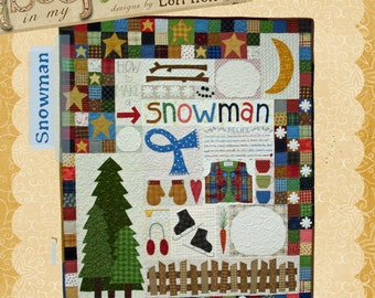 How to Make a Snowman pattern