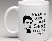 Sexy Time George Michael Arrested Development 11oz Ceramic Mug