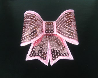 Hair Bows for Girls, Pink Hair Bow with Alligator Clip
