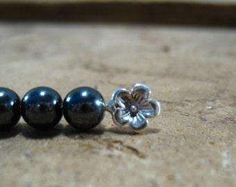 Fancy Head Pins Sterling Silver Cherry Blossom 1 pcs Multi Length Multi Gauge Flower Headpin/Cherry Blossom Headpin/Custom Headpin/Fancy