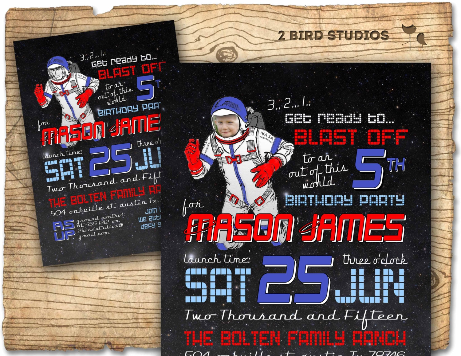 astronaut invitations - photo #13