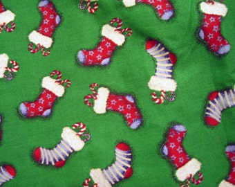 Stocking fabric