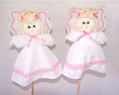 Angel. Centerpiece, Cake toper, Decor, Doll, Puppet. Kids party, Baptism, Confirmation, Christianity, 1st communion, Christmas.