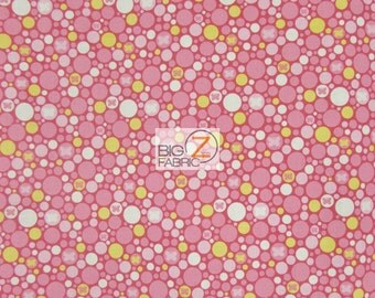 """100% Cotton Fabric By Melly And Me For Riley Blake - Shug As A Bug - 45"""" Width Sold By The Yard (FH-1498)"""