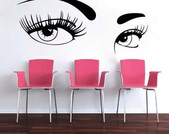 Eyes Wall Decal Etsy - Wall decals eyes