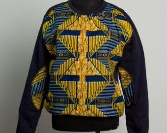 African Print Sweatshirt...Choose a print